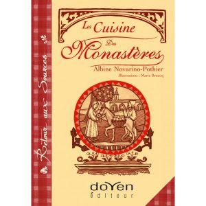 Couverture du livre de cuisine. La cuisine des monastères