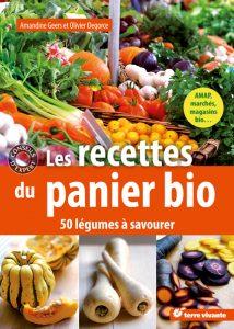 couverture de Livre de cuisine. les recettes du panier bio